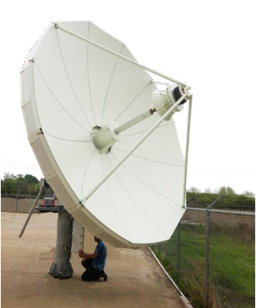 4.9m Earth Station Antennas