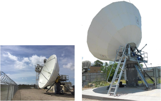 8.1m Earth Station Antennas