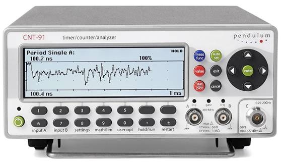CNT-91/91R Advanced Frequency & Time Interval Analyzer